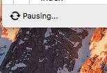 Dropbox Pausing