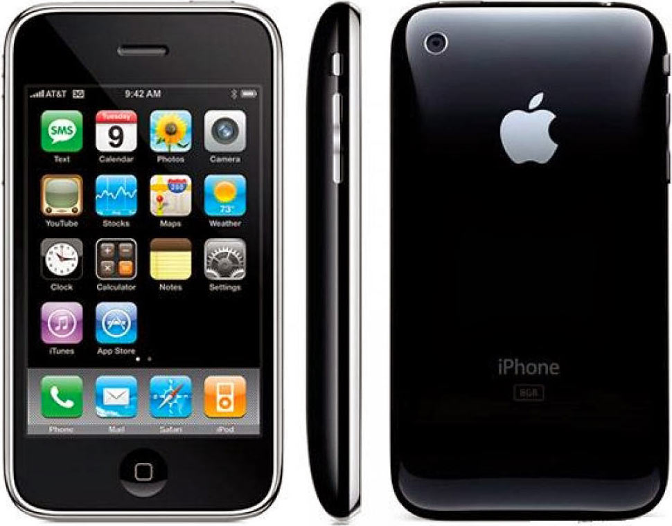 iPhones 3G and 3Gs