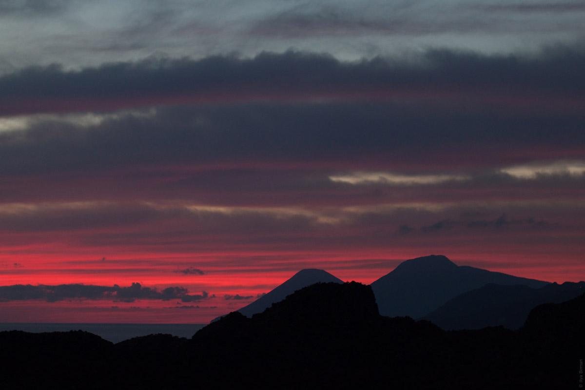 A Vulcano sunset