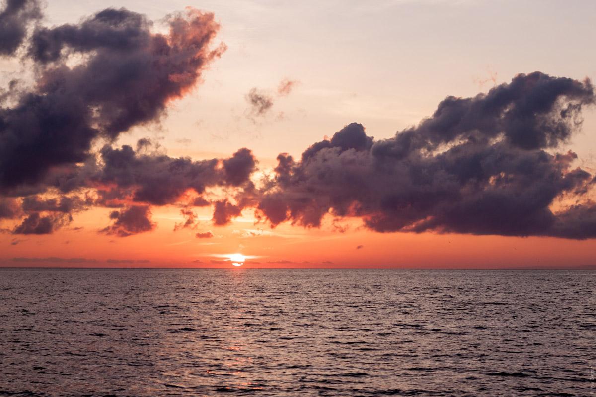 A Vulcano sunrise
