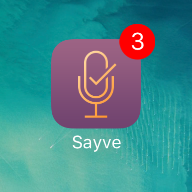 "Designing the ""Badge"" feature for Sayve"