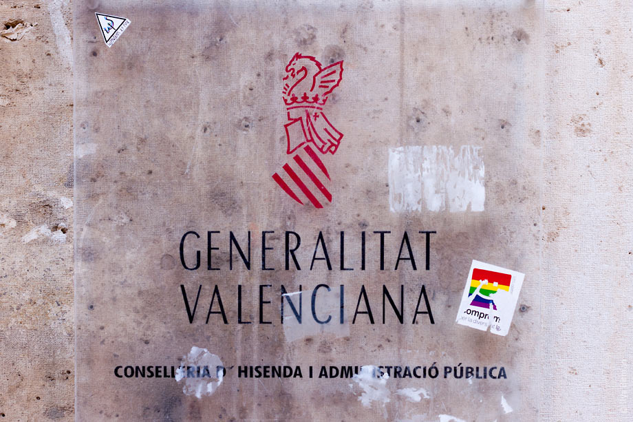 The symbol of the Government of Valencia