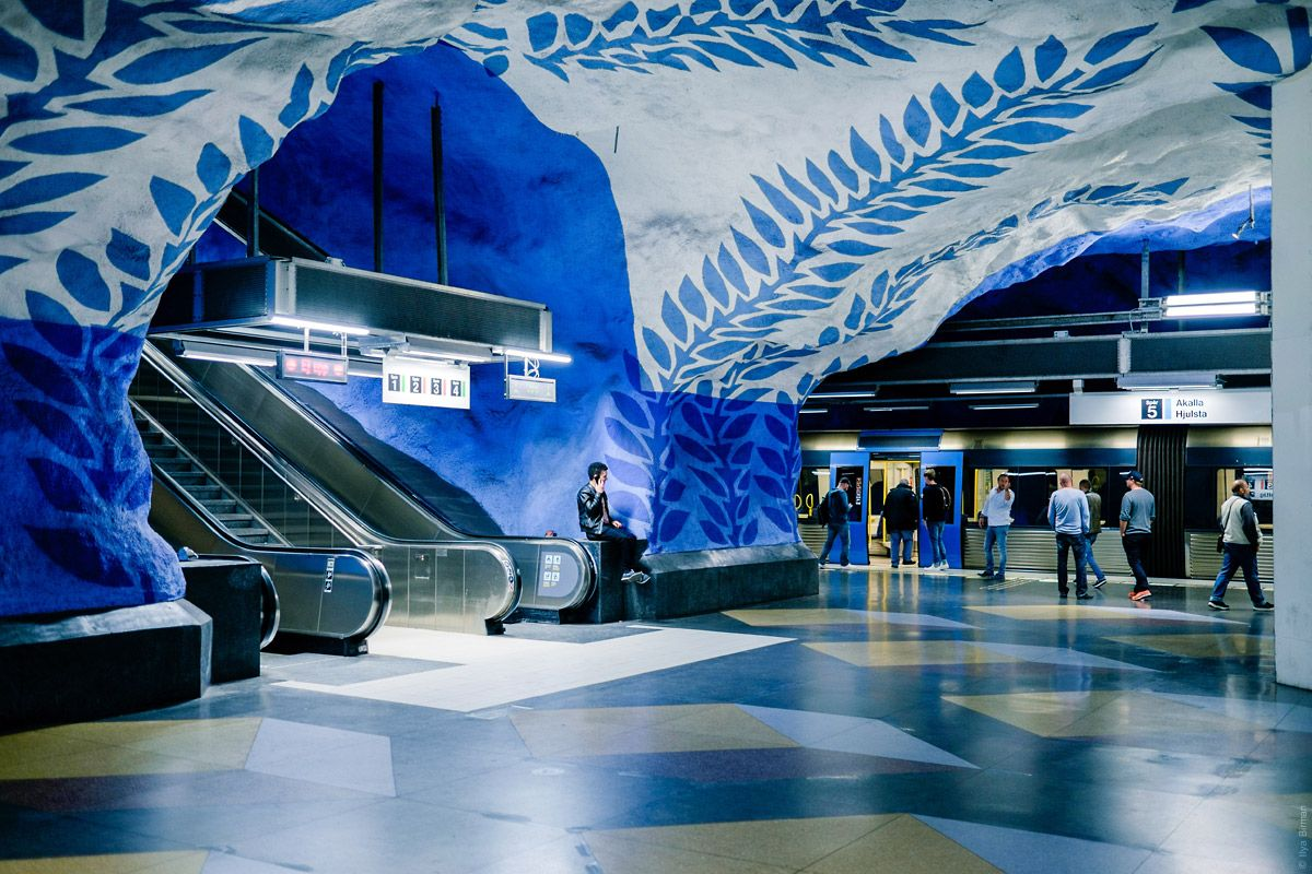 T-Centralen and Stadion Stockholm metro stations