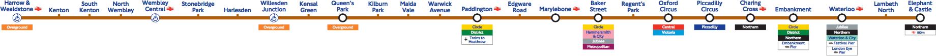 Bakerloo line