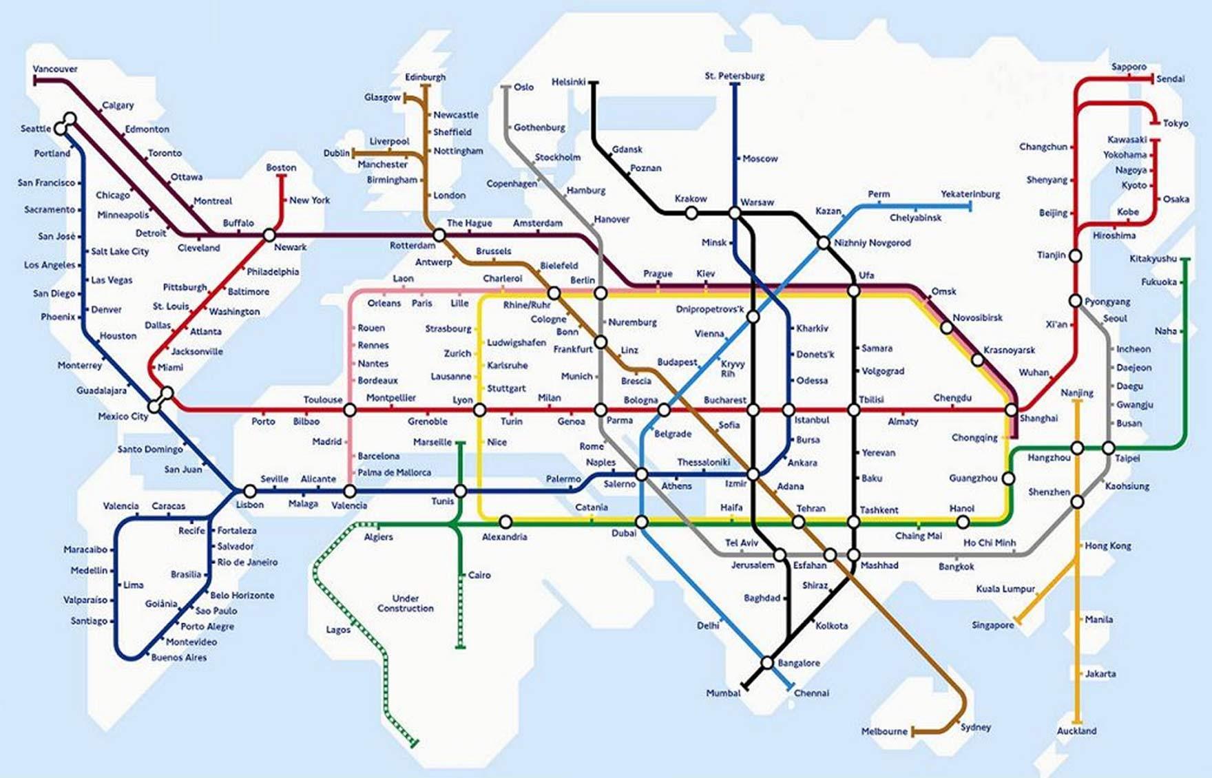 Transport map design