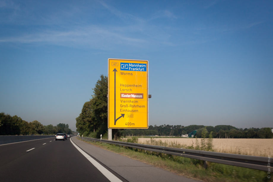 German road signs are the most beautiful in the world