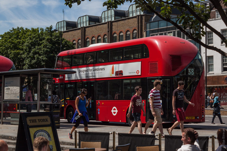 The New bus is designed for Londoners