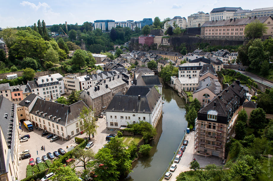 Luxembourg is a two-storey city